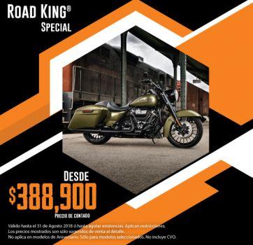 ¡Últimas 2018, aprovecha nuestra promoción en Road King® Special!