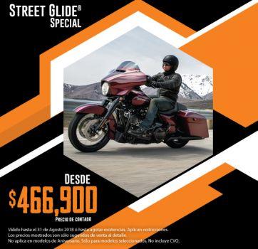 ¡Últimas 2018, aprovecha nuestra promoción en Street Glide® Special!