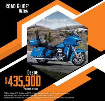 ¡Últimas 2018, aprovecha nuestra promoción en Road Glide® Ultra!