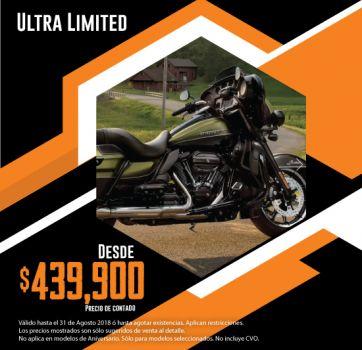 ¡Últimas 2018, aprovecha nuestra promoción en Ultra Limited!