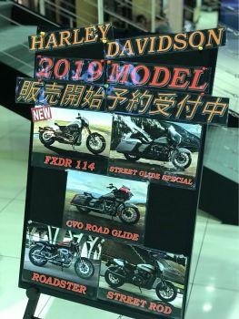 2019年モデル。
