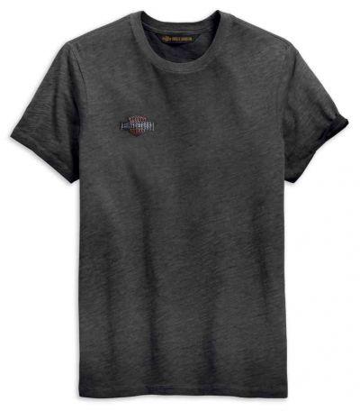 メンズオークリーフスリムフィット半袖Tシャツ