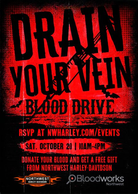 Drain Your Vein Blood Drive