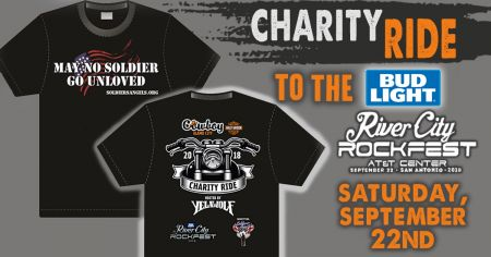 FREE Charity Ride to Bud Light River City Rockfest