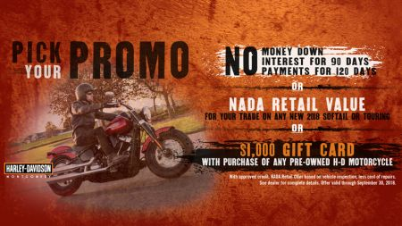 ***PICK YOUR PROMO***