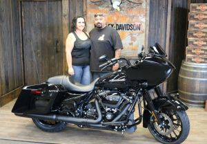 Jesse and Elenas new Road Glide Special!