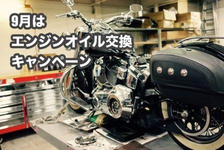 9月のチャンピオンキャンペーン!!