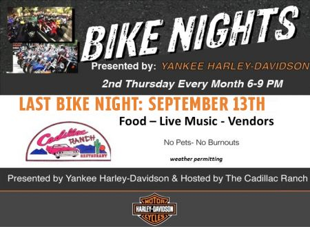 YANKEE H-D BIKE NIGHTS AT THE CADILLAC RANCH