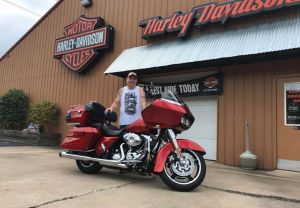 Tim and his Road Glide Custom!