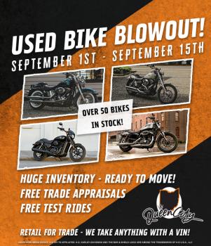 Used Bike Blowout!
