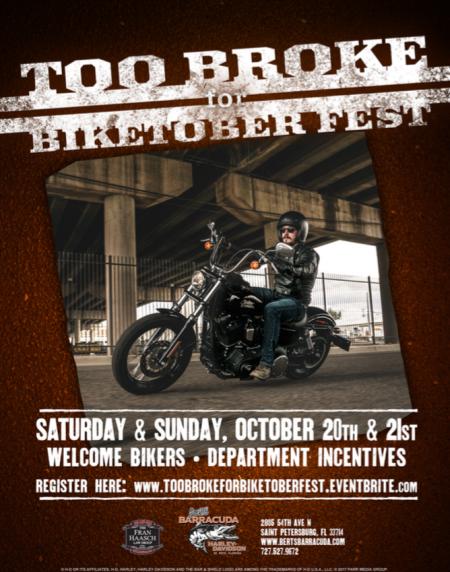 Bert's Too Broke for Biketoberfest