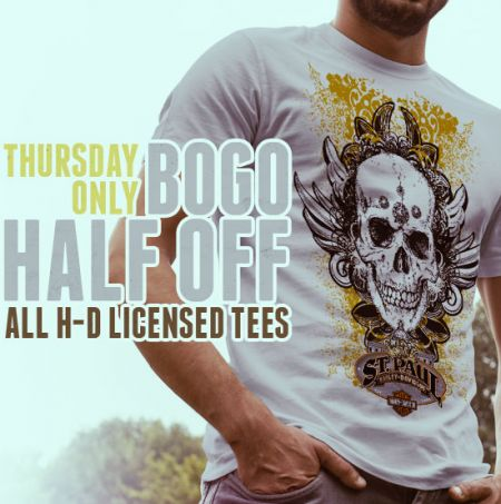 BOGO LICENSED T-SHIRT!