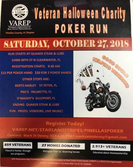 Veteran Halloween Charity Poker Run