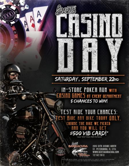Bert's Casino Day