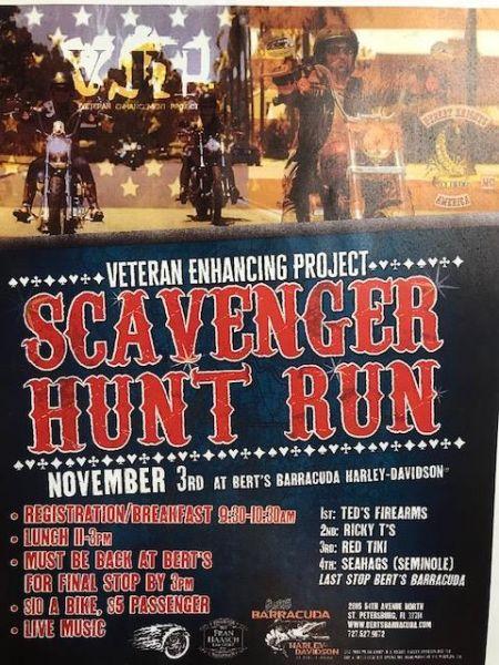 Veteran Enhancing Project Scavenger Hunt