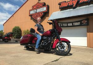 Steve and his Street Glide Special!