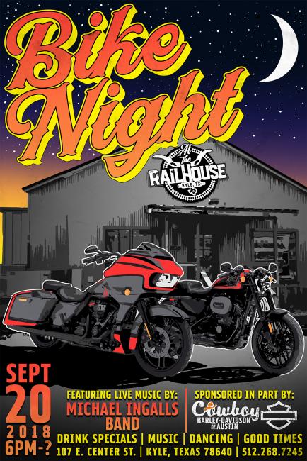 Bike Night at The Railhouse