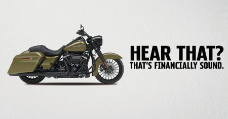 $0 Down and rates as low as 1.99% APR* on new 2018 or 2017 Harley-Davidson® Softail and Touring Models. Limited time only.