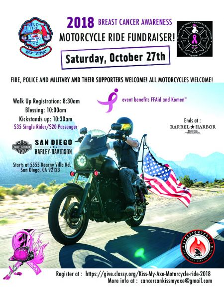 2018 Breast Cancer Awareness Motorcycle Ride!