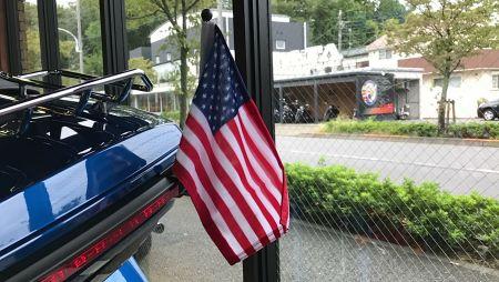 【目立ち度!簡単アップ】日本未導入!個人輸入してきたフラッグポール