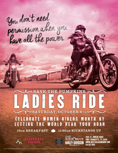 Save the Pumpkins - Ladies Ride