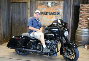 Roberts new Street Glide Special!