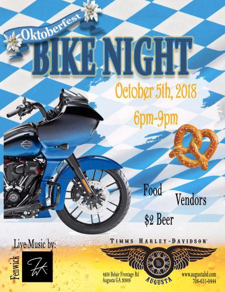 Oktoberfest Bike Night