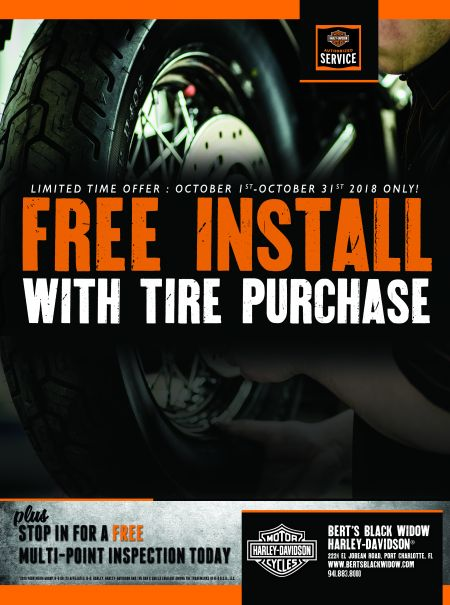 Free Install With Tire Purchase
