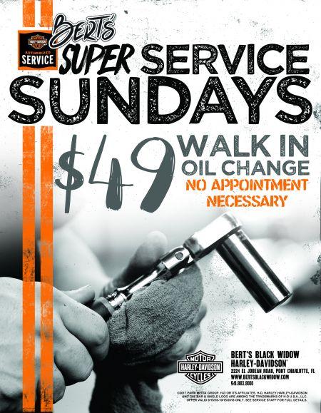 Bert's Super Service Sundays