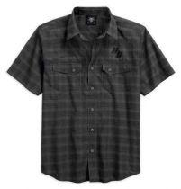 Men's Textured Vertical Graphic Short Sleeve