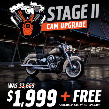 Stage II Cam Upgrade Special