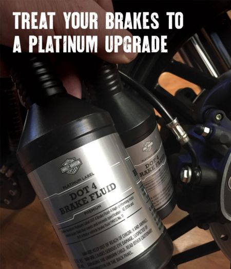 TREAT YOUR BRAKES TO A PLATINUM UPGRADE