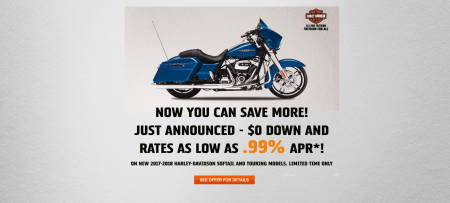 September Touring & Softail® Model Carryover Promotion!