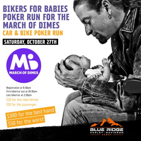 March Of Dimes Bikers For Babies Poker Run