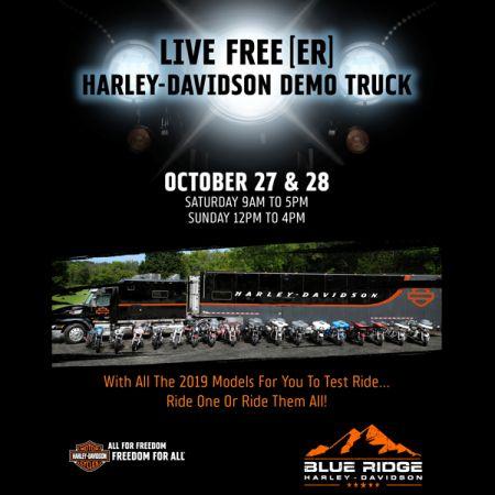 Harley Demo Truck