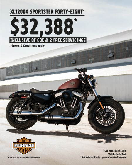 Forty-Eight® @ $32,388 incl. COE!