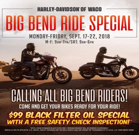 Big Bend Ride Special
