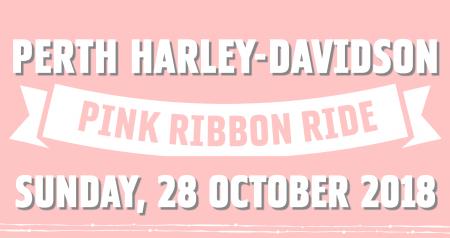 Perth Harley-Davidson Pink Ribbon Ride