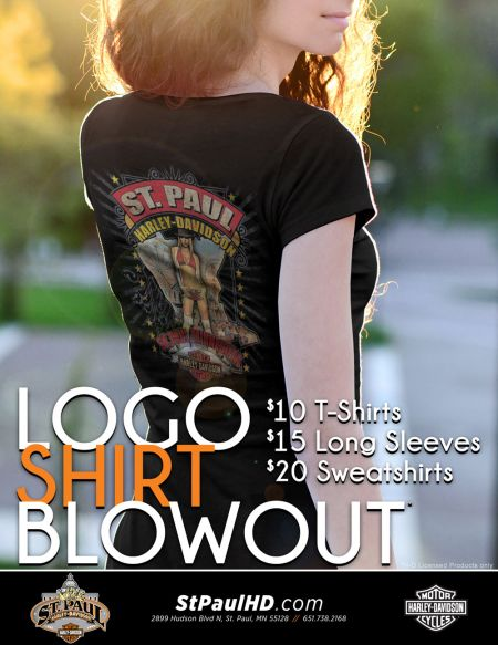 Logo Shirt Blowout