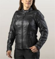 HD dámska kožená bunda na jazdenie /FXRG® TRIPLE VENT SYSTEM/