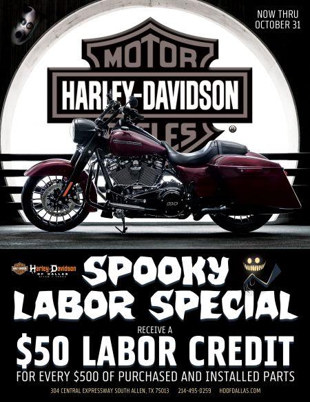 Spooky Labor Special!