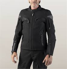 HD pánska textilná bunda na jazdenie/FXRG® TRIPLE VENT SYSTEM/