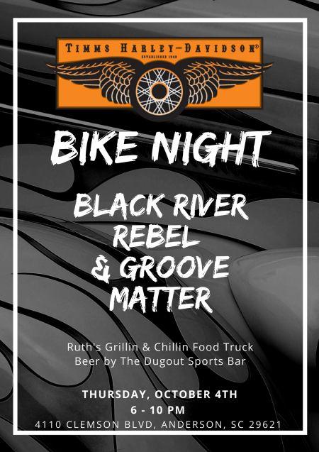 Bike Night Timms Harley Davidson