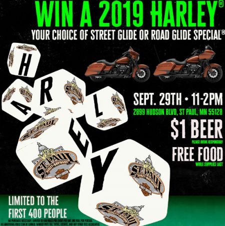 Win a new 2019 Harley!