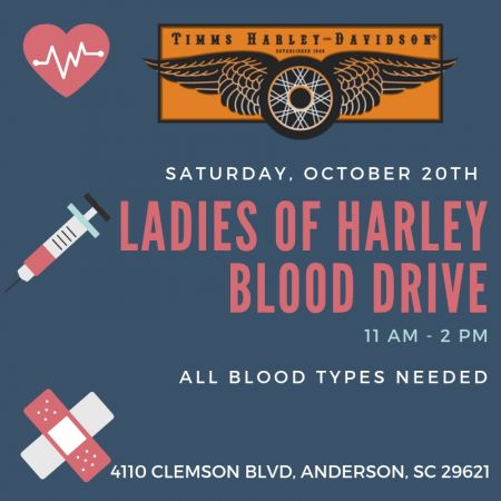 Ladies Of Harley Blood Drive