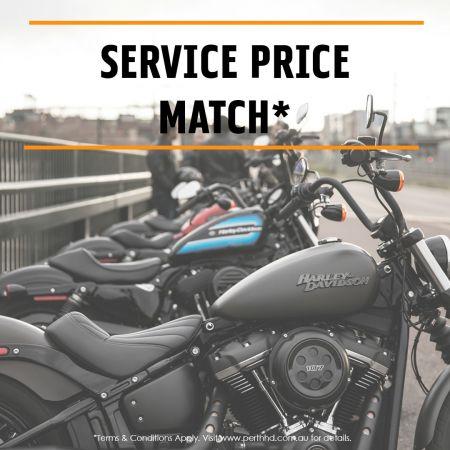 Service Price Match