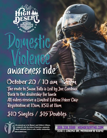 Domestic Violence Awareness Ride