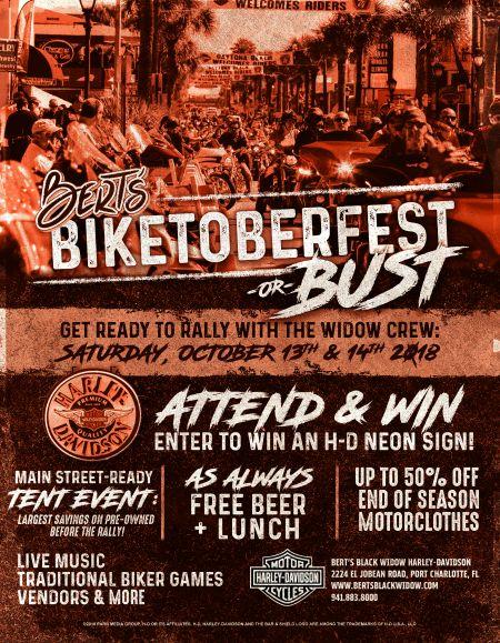 Bert's Biketoberfest or Bust!