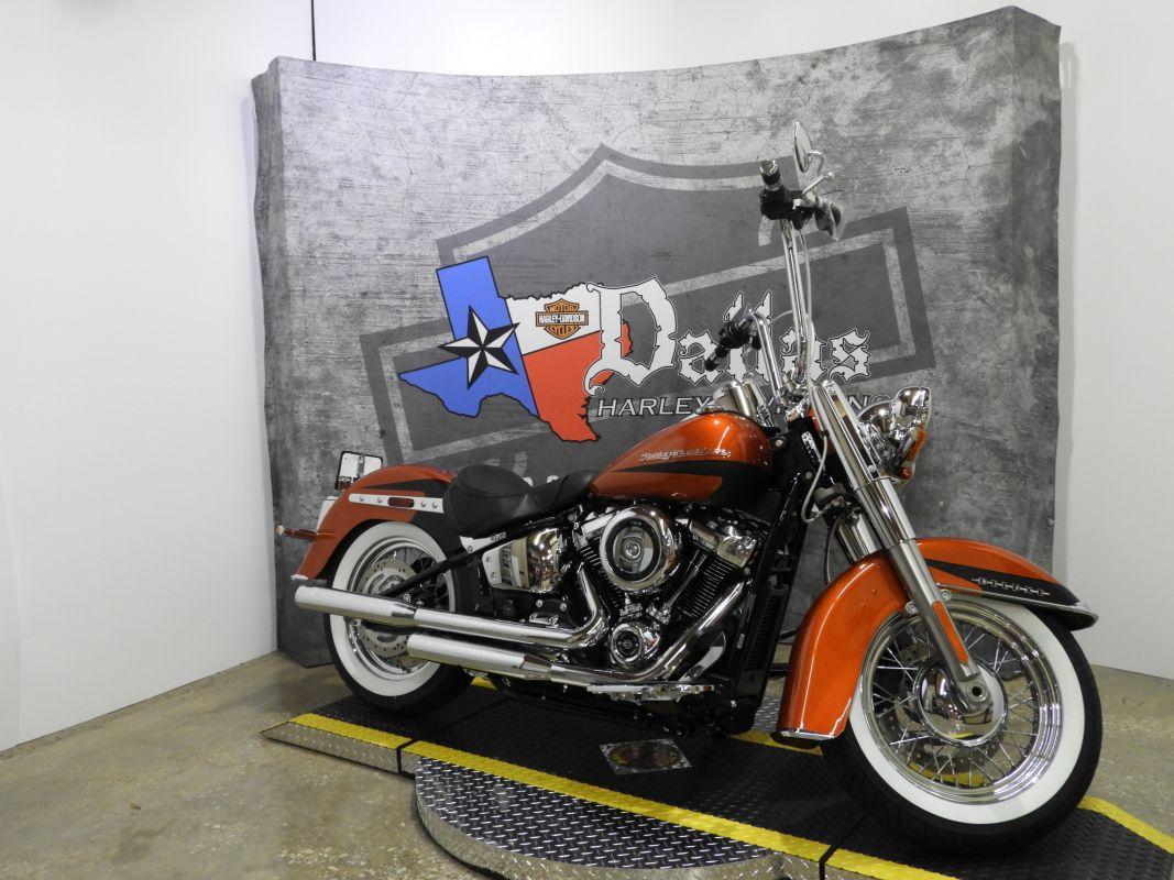 Homepage Dallas Harley Davidson Heritage Softail Clic 2019 Deluxe Flde