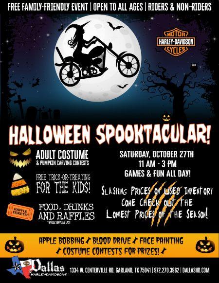 Halloween Spooktacular At Dallas Harley-Davidson